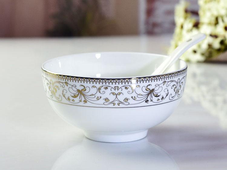 骨瓷碗盘碟套装