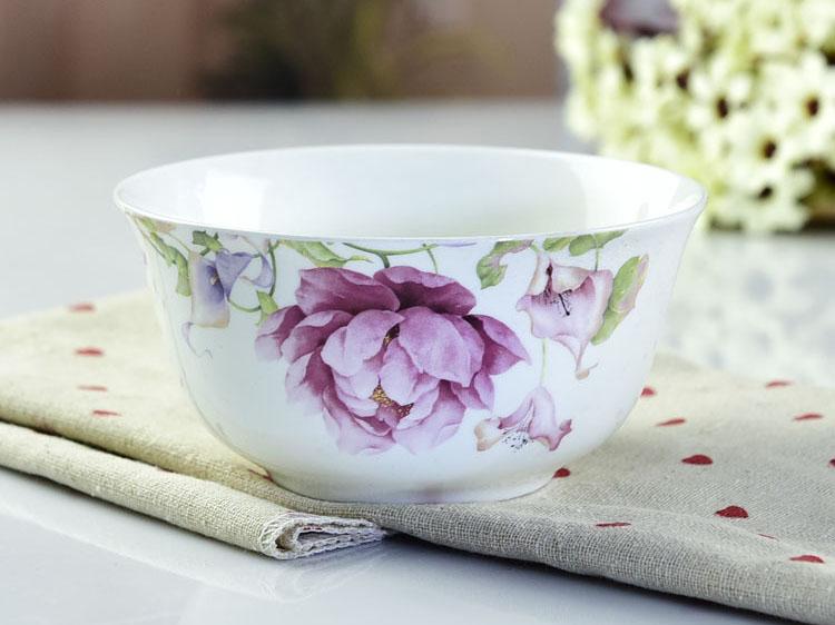 创意骨瓷碗 家用小号饭碗