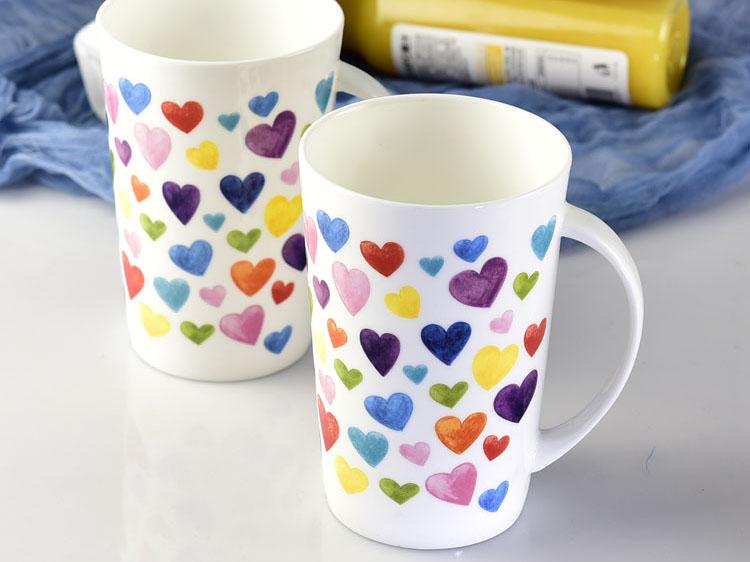 创意陶瓷马克杯情侣杯