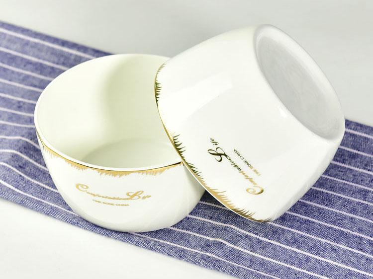 陶瓷餐具 4.5寸陶瓷方碗