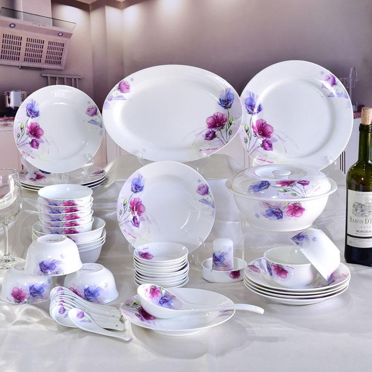 骨瓷餐具碗盘套装选购技巧