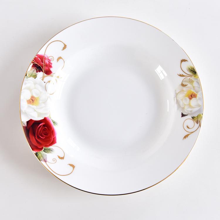 美食美器之骨瓷餐具碗盘套装