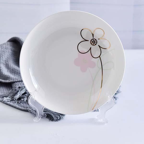 陶瓷8寸饭盘餐具套装