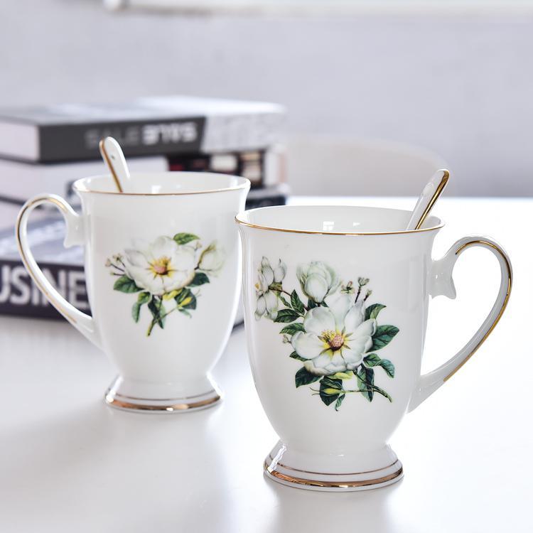 木棉花皇室陶瓷杯
