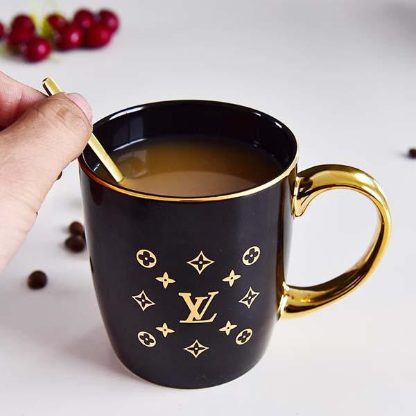 LV陶瓷礼品杯定制批发