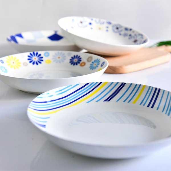 8寸陶瓷饭盘 陶瓷餐具定制