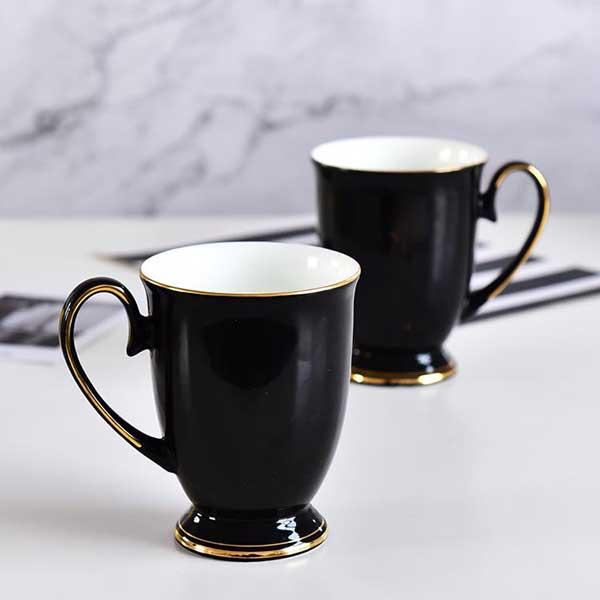 黑釉陶瓷皇室杯定制