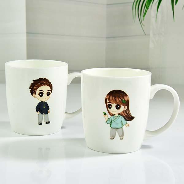 批发定制陶瓷礼品广告杯