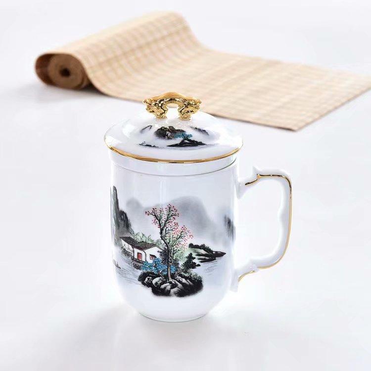 骨瓷杯可以用来泡茶吗?