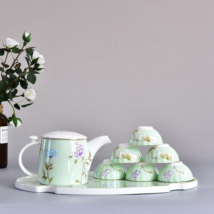 绿野仙踪骨瓷茶具套装