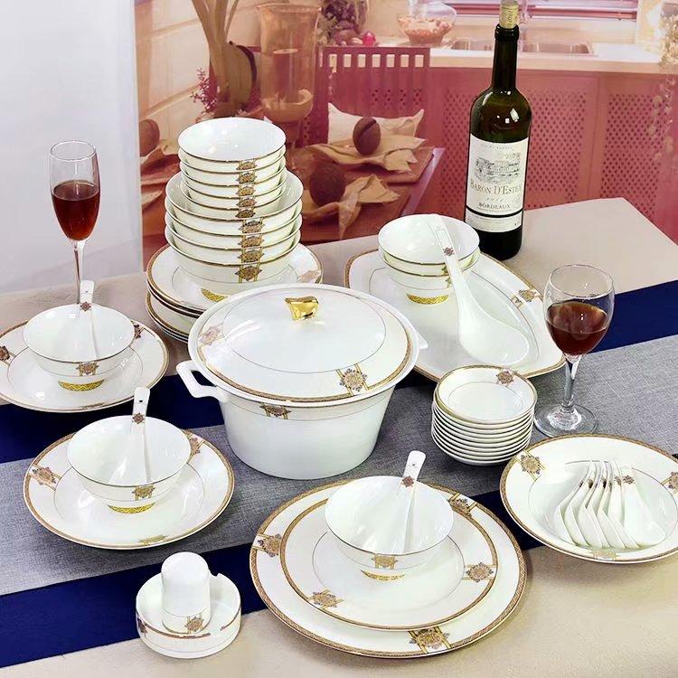 釉中彩陶瓷餐具的优点