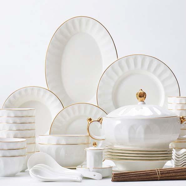 陶瓷餐具该如何清洗?