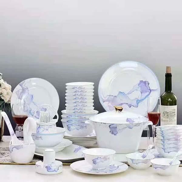 五大类陶瓷餐具介绍