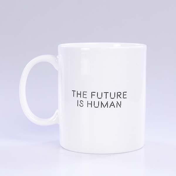 直身陶瓷广告杯定制