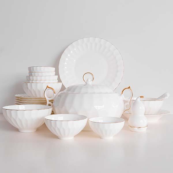 水晶陶瓷餐具