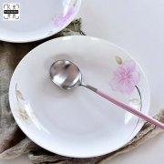 唐山骨瓷厂家:低骨瓷餐具