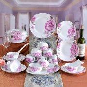 五大精美系列骨瓷餐具