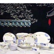 色釉骨瓷餐具的分类